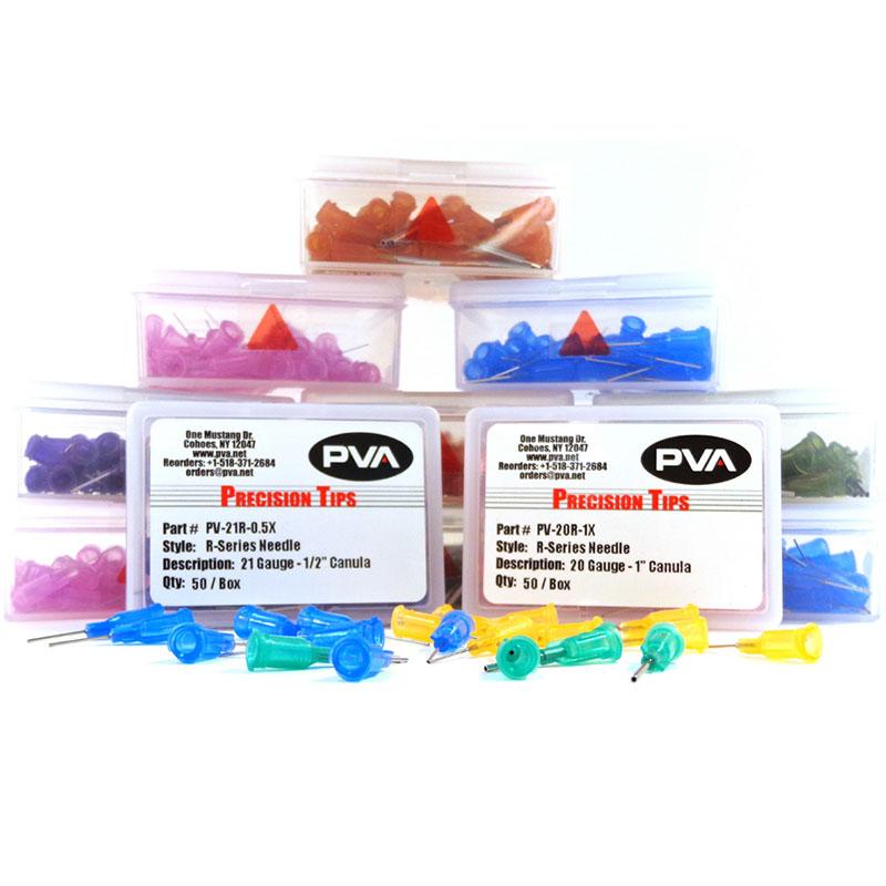 PVA R-series (DN) ꜛ пластиковые дозирующие насадки с канюлей из нержавеющей стали