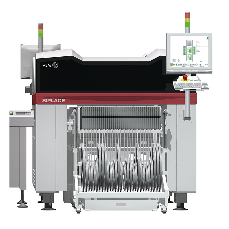 E от SIPLACE ꜛ универсальный автомат установки компонентов