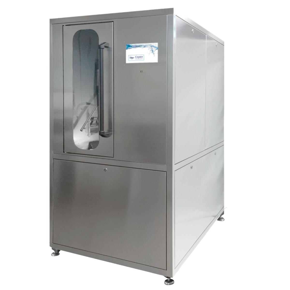 CEPTER Electron 400-VC ꜛ установка бестеневой струйной отмывки