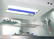 SCH CB100 ꜛ установка нанесения влагозащитного покрытия методом распыления
