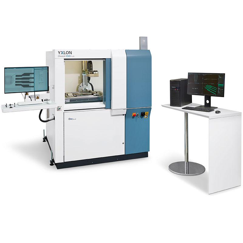 YXLON Cheetah EVO Plus ꜛ установка 2D/3D рентгеновского контроля