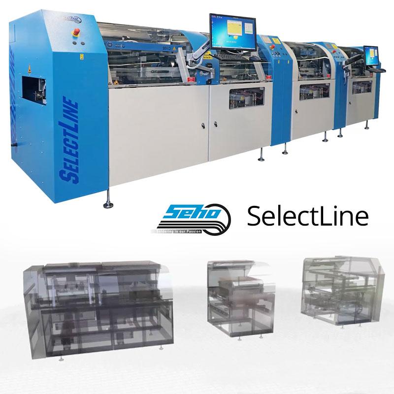 SEHO SelectLine C (Compact) ꜛ установка селективной пайки