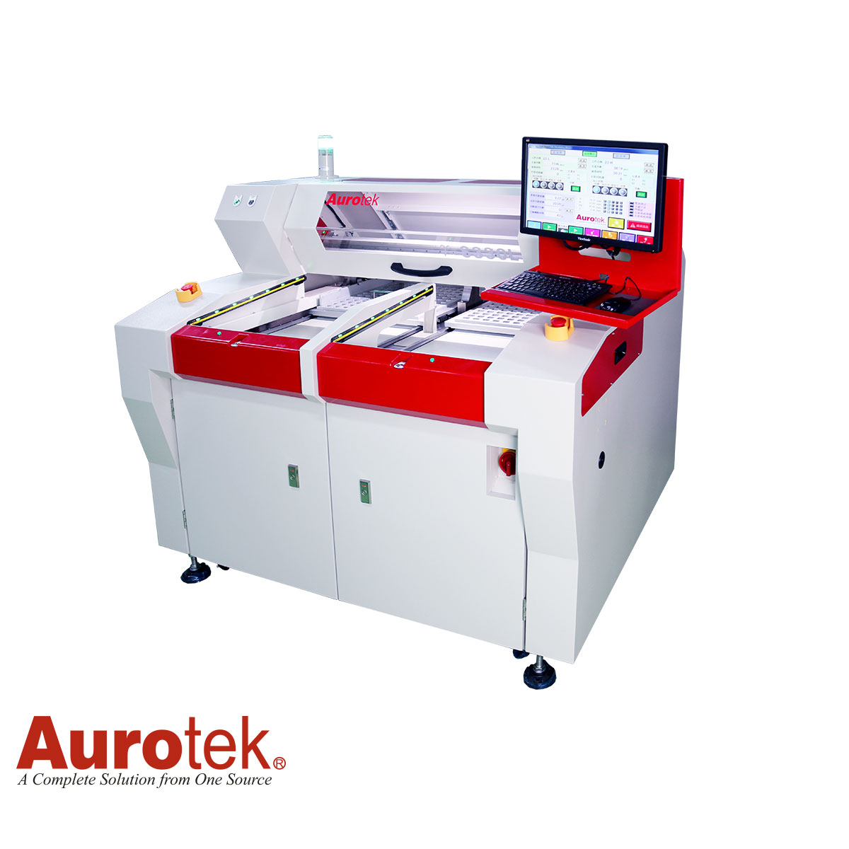 AUROTEK Y-S330L ꜛ сепаратор для разделения групповых заготовок ПП