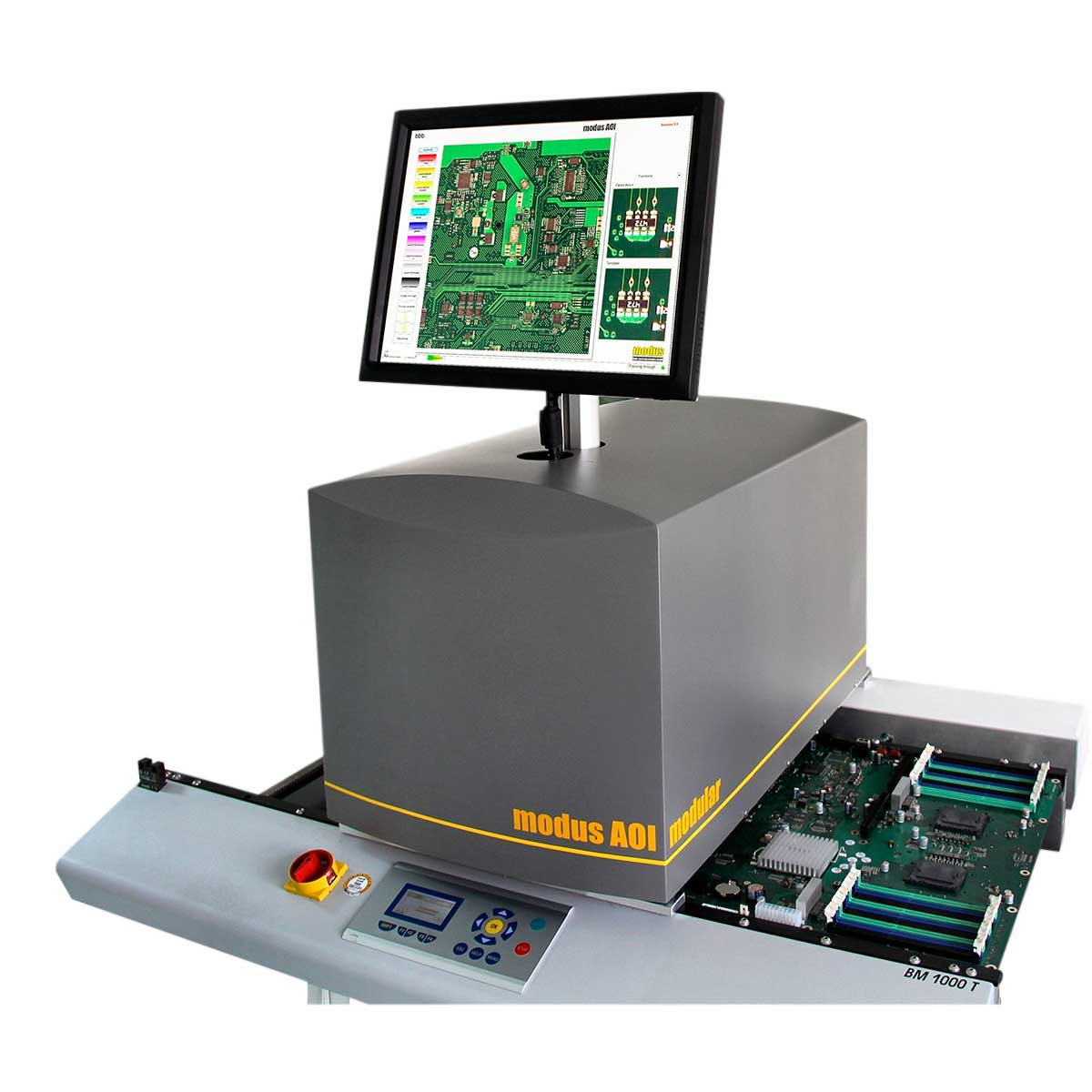 modus | iScan 420 T ꜛ модульная установка АОИ