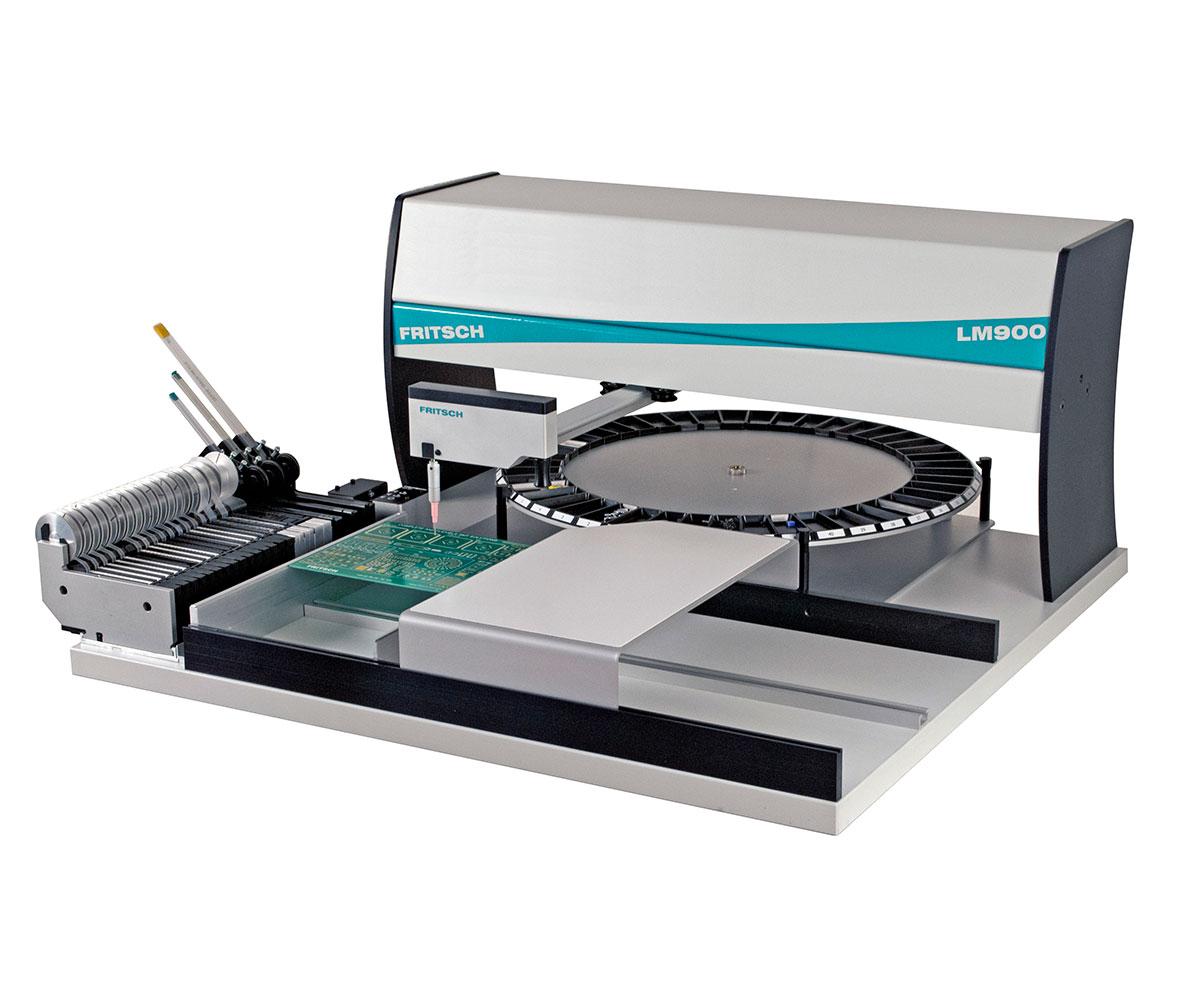 FRITSCH LM 900 ꜛ манипулятор установки компонентов начального уровня