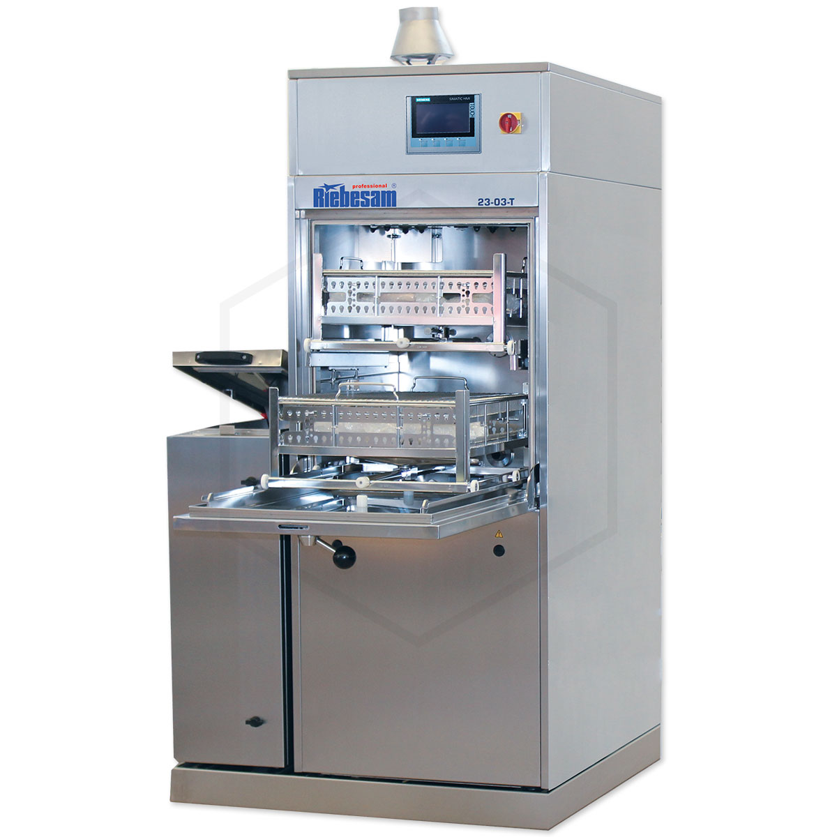 RIEBESAM 23-03Т ꜛ установка струйной отмывки печатных узлов от остатков флюса и органических загрязнений