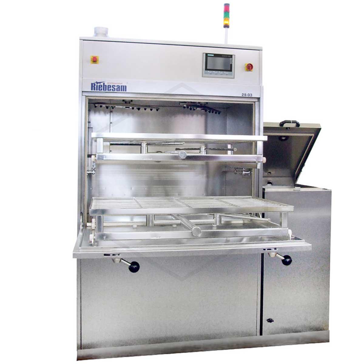 RIEBESAM 28-03Т ꜛ установка струйной отмывки печатных узлов