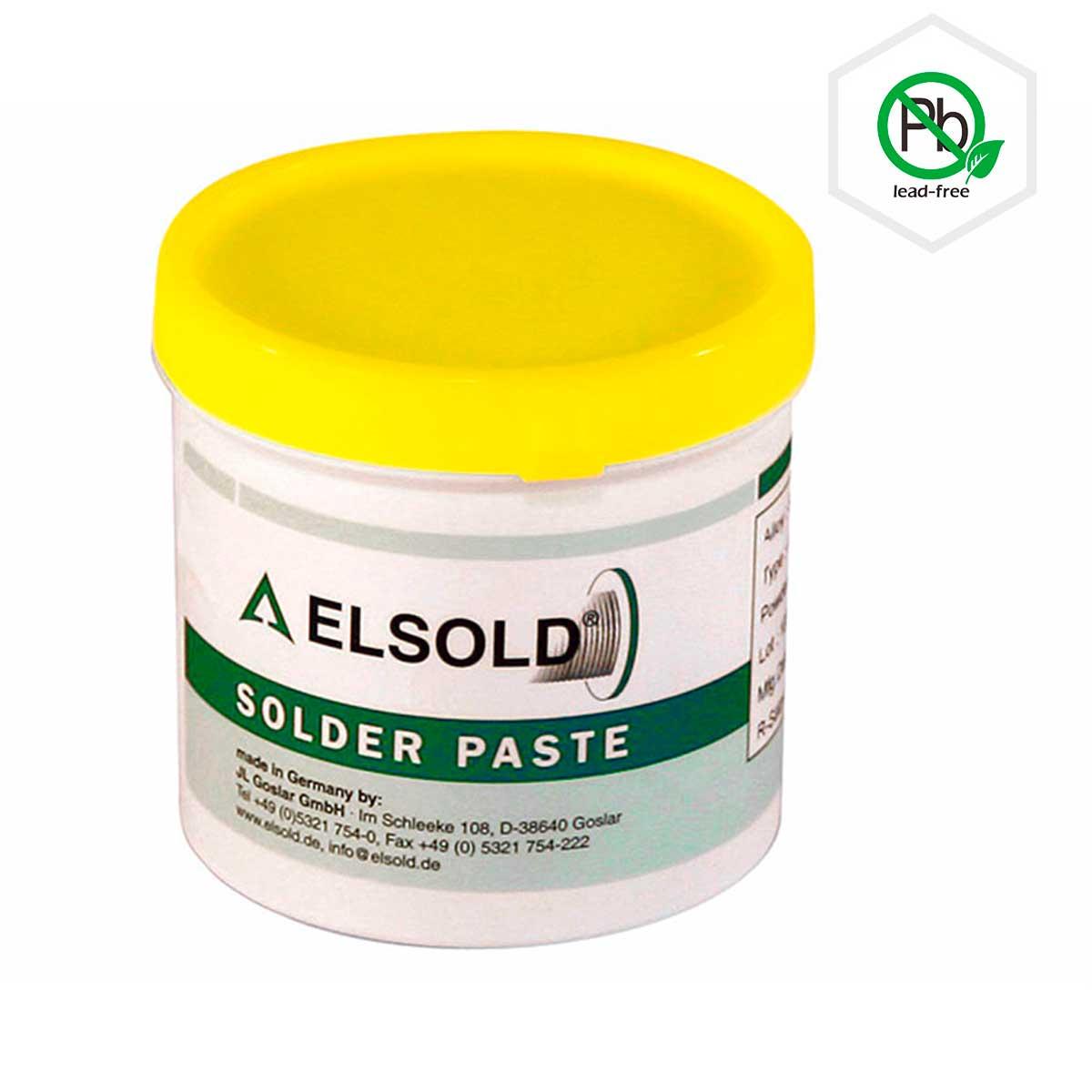 ELSOLD AP-20 ꜛ бессвинцовая паяльная паста с водосмываемым флюсом