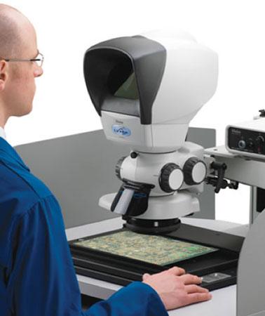 VISION Lynx VS8 ꜛ стереомикроскоп с трансфокатором